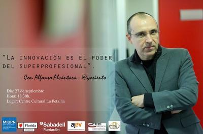 Conferencia Alfonso Alcántara en Valencia