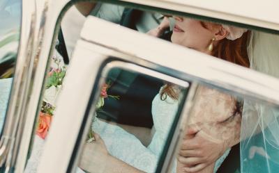 Coches para bodas de los años 50