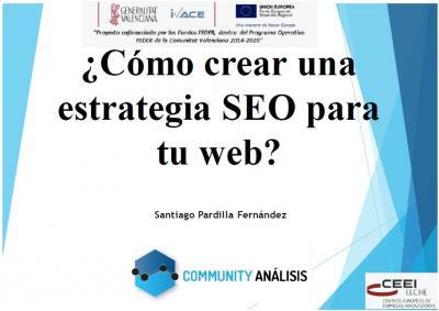 ¿Cómo crear una estrategia SEO para tu web?
