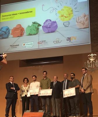 ganadores del Concurso Ideas+Innovadoras 2017