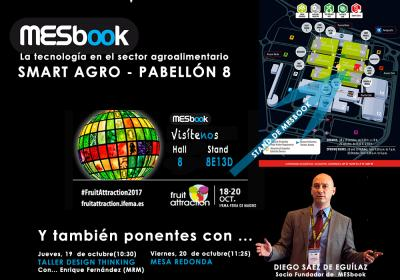 MESbook en Attraction Fruit (IFEMA-Madrid)