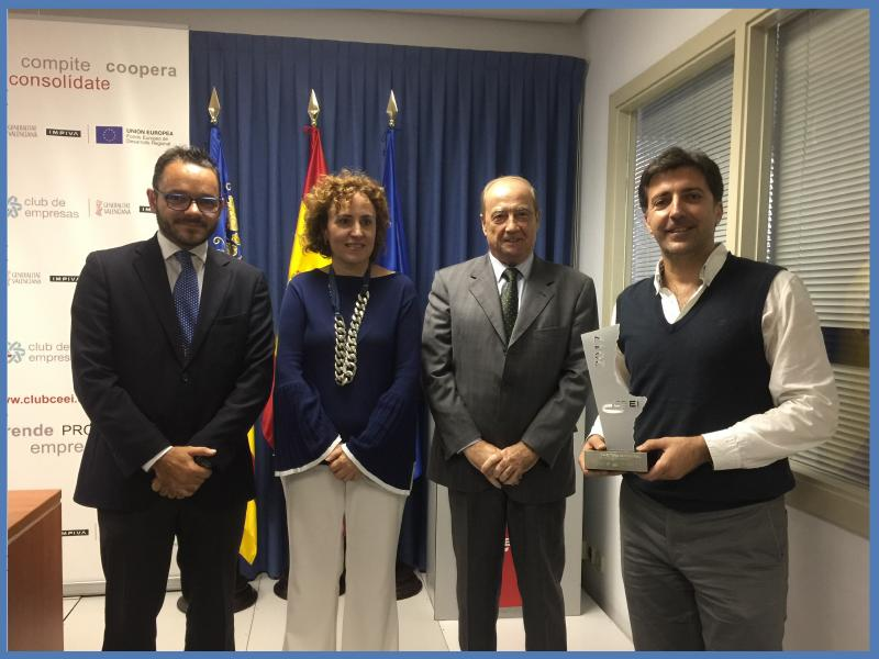 Premio Trayectoria Empresarial CEEI IVACE 2017 Valencia