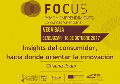 PORTADA PONENCIA Insights del consumidor, hacia donde orientar la innovación