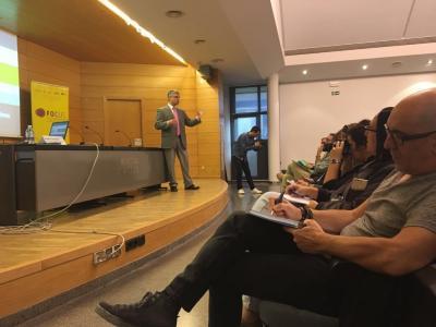 Sesión sobre financiación en Focus Pyme Los Serranos