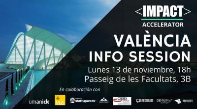 Impact Accelerator Valencia INFO SESSION