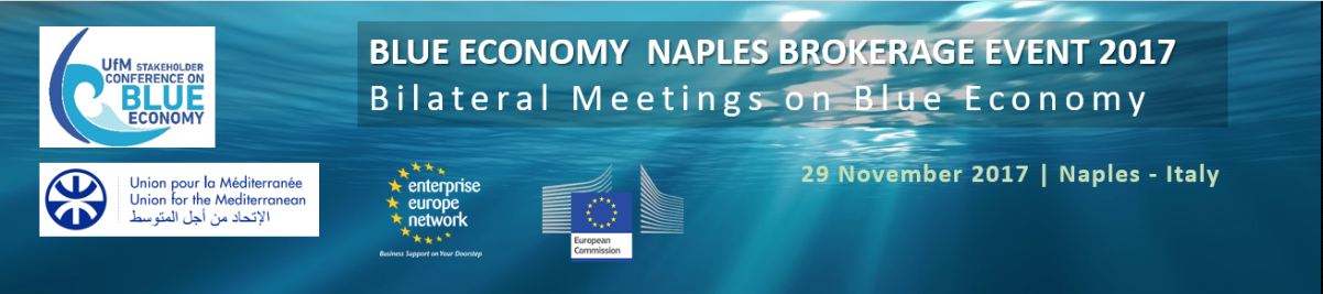 Blue Economy Naples Brokerage Event 2017
