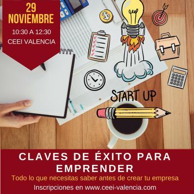 Imagen Sesión Emprendedores 29 de noviembre CEEI Valencia