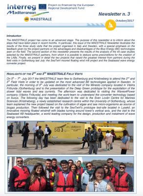 MAESTRALE Newsletter 3