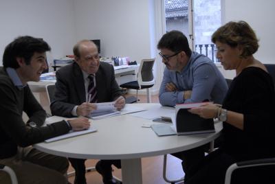 Reuni�n de trabajo con Diputaci�n de Valencia