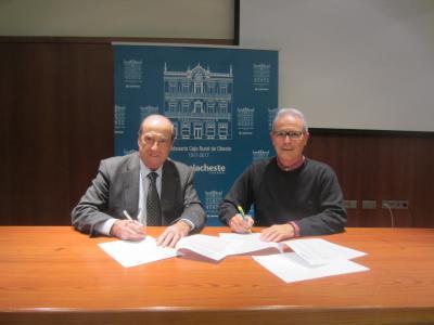 Firma Convenio con Fundación Caja Rural de Cheste