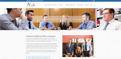 Nuevo proyecto de diseño web : Asesoría en Valencia Afilco Asesores