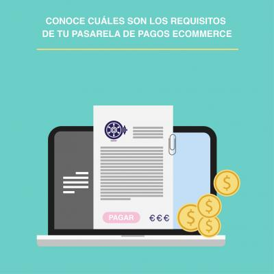 Requisitos de tu pasarela de pagos