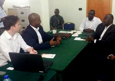 Idai Nature. Delegación Ghana