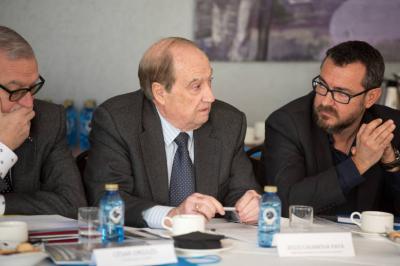 Intervención de Jesús Casanova en el Foro Industria 4.0. Imagen de Alicante Plaza