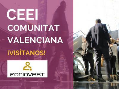 Red CEEI Comunitat Valenciana en Forinvest 2018