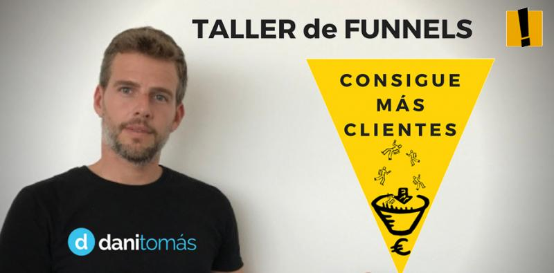 Taller Funnels para conseguir más clientes
