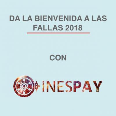INESPAY recibe a las Fallas 2018