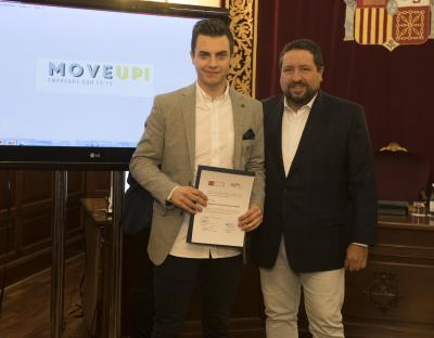 Acto entrega de premios y diplomas Move Up! 2017. Miguel F. Barrachina.