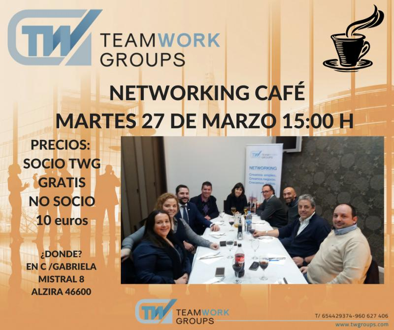 NETWORKING CAFE MARZO