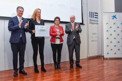 Visual gana los Premios EmprendedorXXI en la Comunitat Valenciana