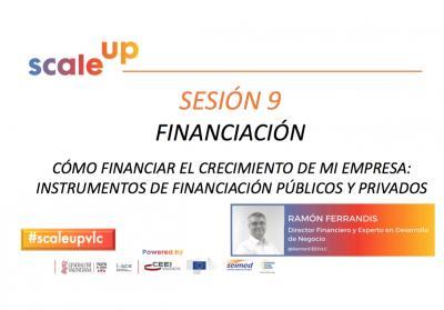 Sesión 9. Financiación