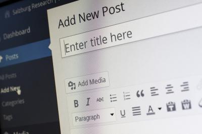 Sistemas de gestión de contenidos Wordpress