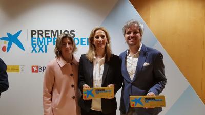 Ganadores premio Emprendedor XXI 2018