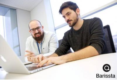 Carles Montrull y Mariano García, dos de los fundadores de Barissta