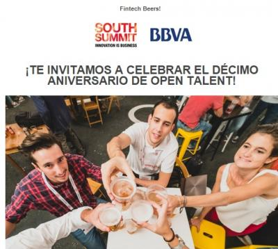 Aniversario de Open Talent