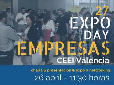 Imagen EXPO DAY CEEI Valencia