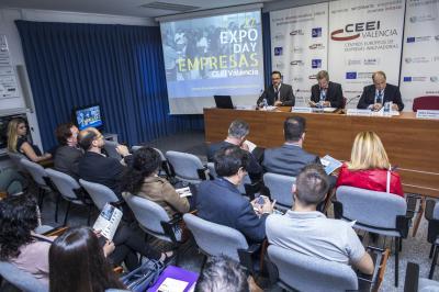 Acto Oficial Presentación Empresas Expo Day 1