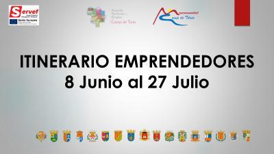 cartel itinerario emprendores
