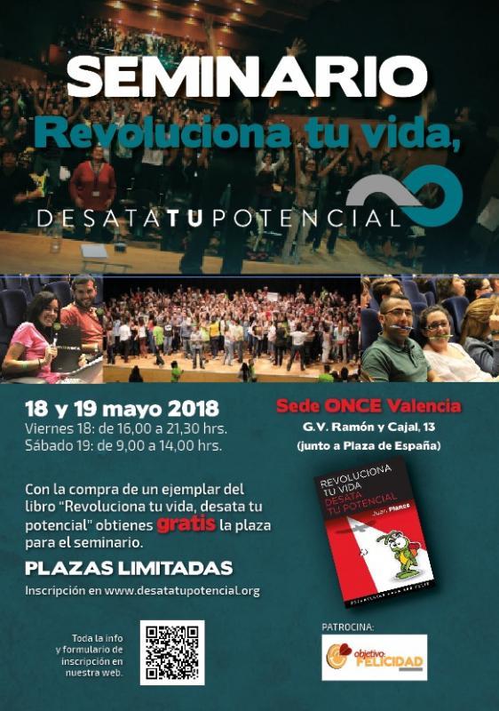 """Seminario """"Revoluciona TU Vida. Desata TU Potencial""""."""
