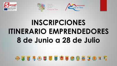 INSCRIPCIONES ABIERTAS ITINERARIO EMPRENDEDORES JUNIO - JULIO