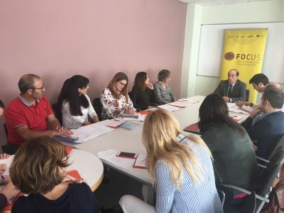Reunión Comite de Organización Horta Nord, Camp de Morvedre y Camp de Túria