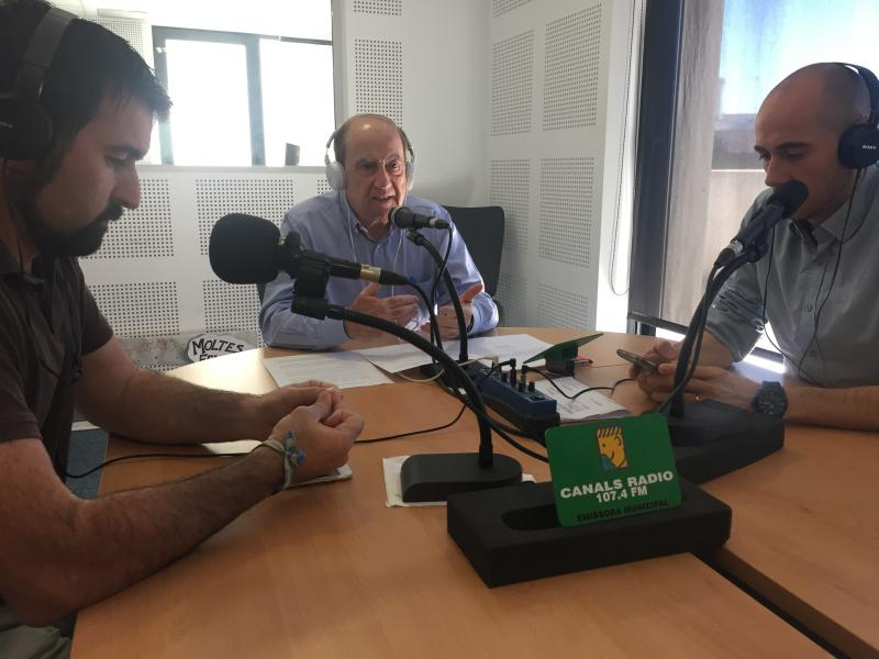 La radio municipal de Canals se hace eco del evento
