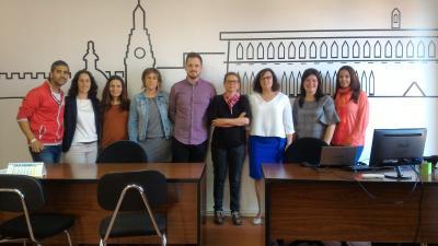 Equipo técnico del proyecto experimental 2018. Mancomunitat Costera-Canal