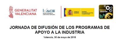 Programa de la Jornada de difusión de los programas de apoyo a la industria