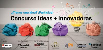 Concurso IDEAS + INNOVADORAS  2018