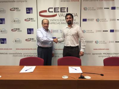 Firma del Convenio de Colaboración entre CEEI Valencia y Ayuntamiento de Canals
