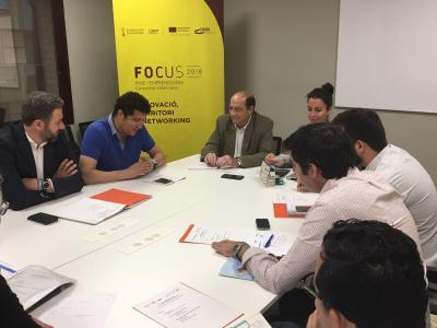 Reunión Comité Organización Focus Pyme y Emprendimiento Valencia
