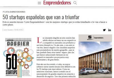 FruitsApp en la revista Emprendedores