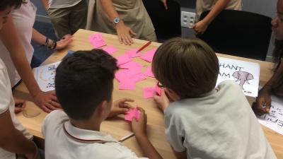 El colegio Julio Verne de Torrent acoge 'KINN'
