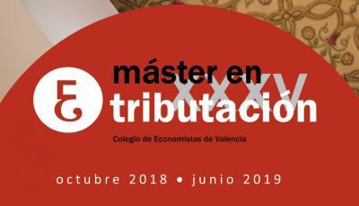 Máster en Tributación. Colegio de Economistas de Valencia