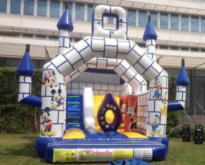 Castillo hinchable Disney Valencia