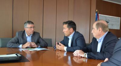 Reunión Conseller Economía y BIOVAL
