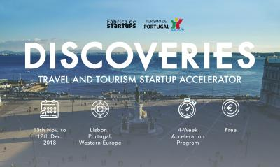 Discoveries. Travel and Tourism Startup Accelerator