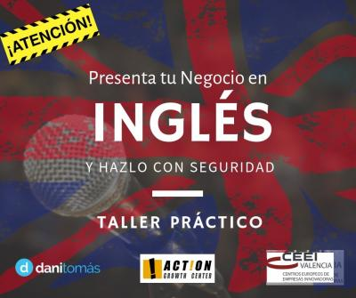 Taller Presenta tu Negocio en Inglés