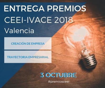 Entrega de Premios CEEI IVACE 2018
