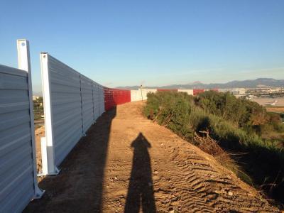 Proyecto con pantallas acústicas en Mallorca